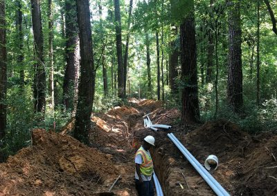 New electrical conduit in Mountain Brook Alabama